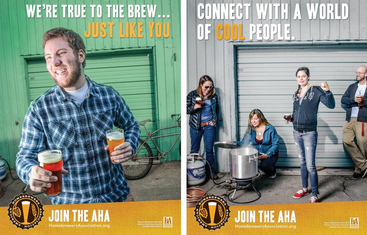 American Homebrewers Association Print Ad Campaign