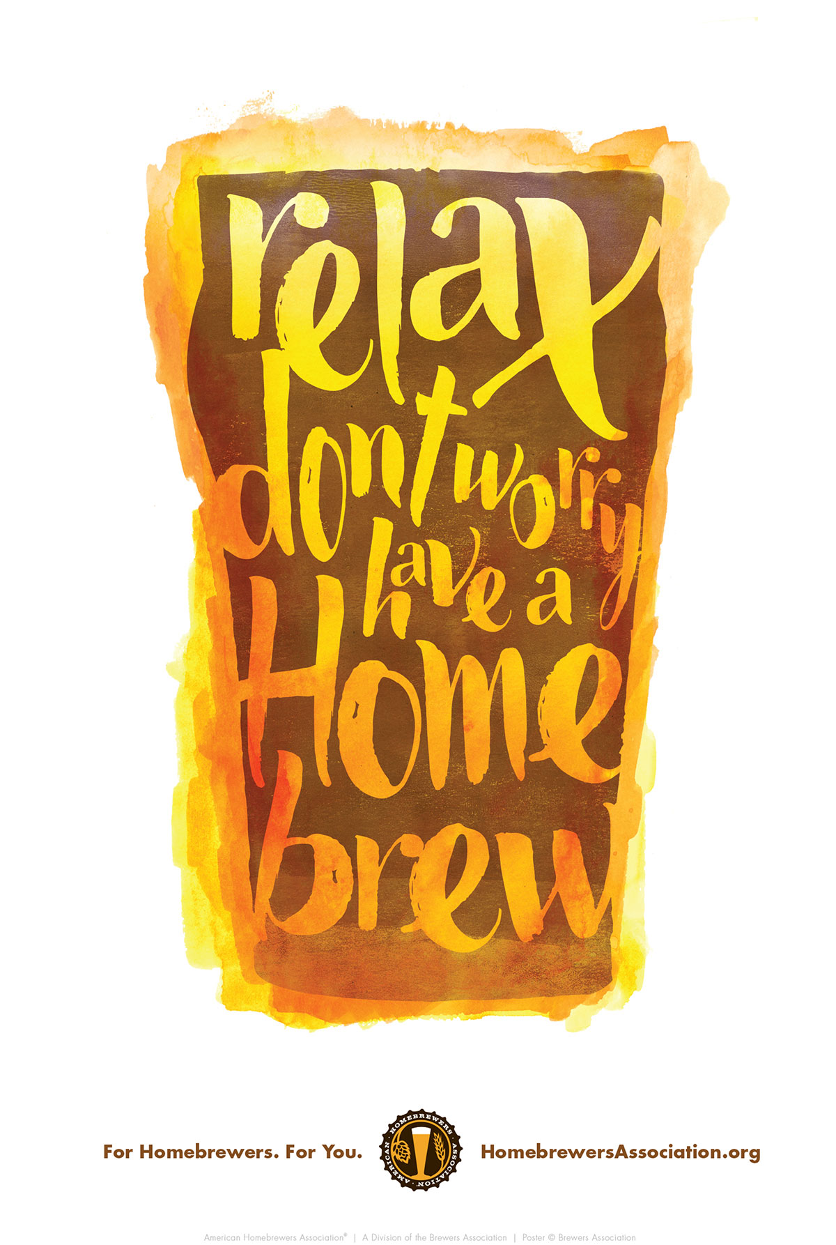 Relax Don't Worry Have a Homebrew